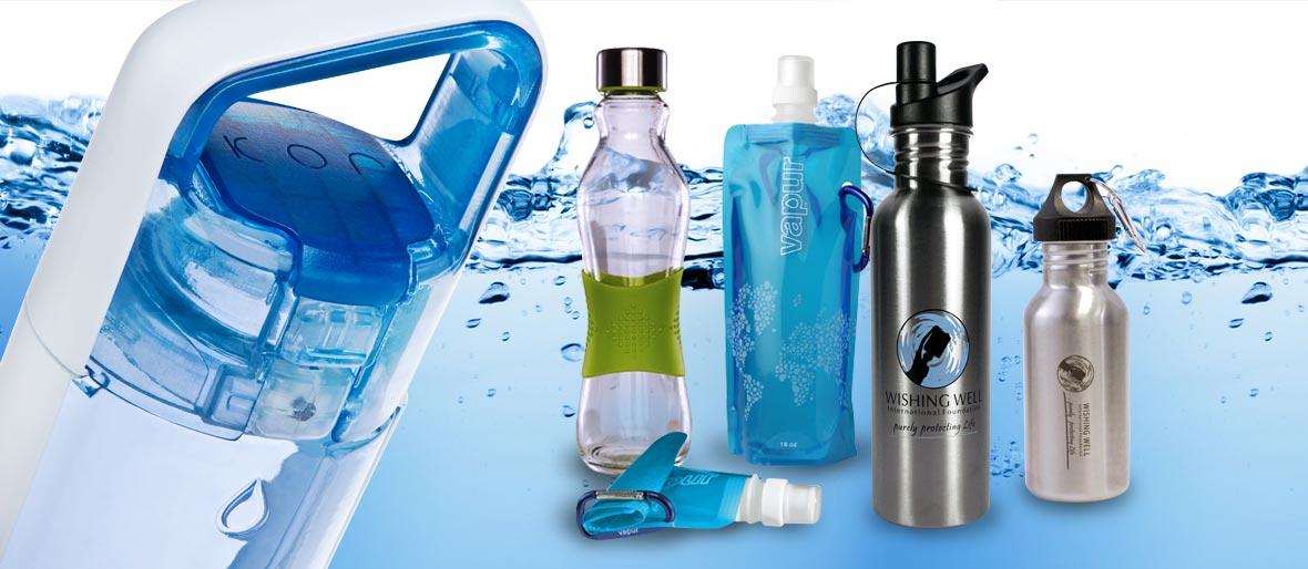 Range of H2O Water Bottles