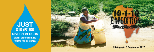 Help change lives with purified water