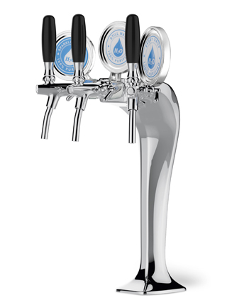Celli Cobra Tower Dispenser – Triple Tap